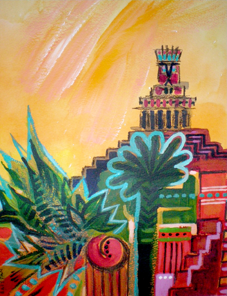 Inca II Painting