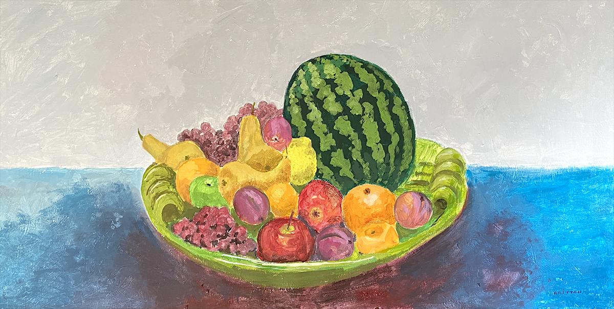 Bowl & Fruit